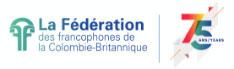 BC Federation of Francophones Logo